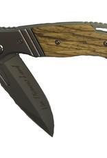 Performance Outdoors Van Diemens Kudu Folding Knife Timber Handle