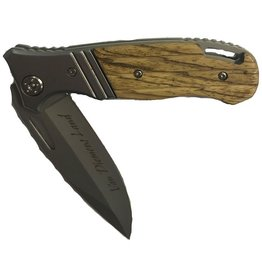 Performance Outdoors Van Diemens Kudu Folding Knife Timber Handle