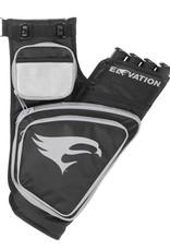 Elevation Elevation Transition Quiver<br /> Black/Silver 4 Tube RH