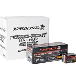 Winchester Winchester Power Point 22WMR 45gr HP Magnum 50Pkt