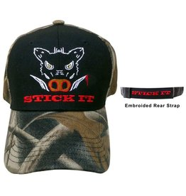 "Piper Imports Pig Hunter Cap ""STICK IT"""