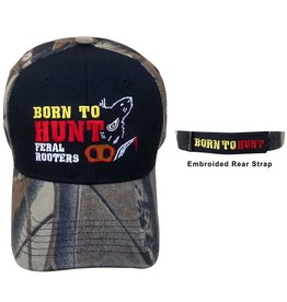 Piper Imports Pig Hunter Cap Born to Hunt Feral Rooters