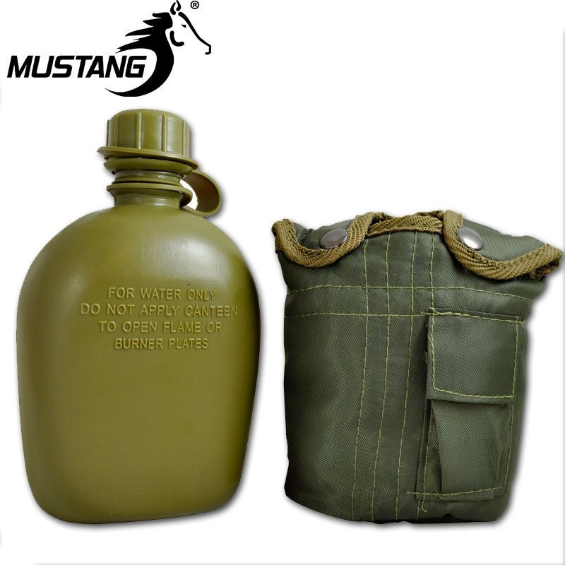 PowaBeam Mustang GI Canteen w/Olive Cover