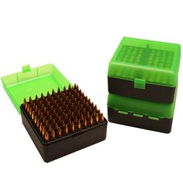 MTM Molded Products MTM Case-Gard 100-Round Rifle Ammo Box