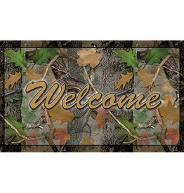 Rivers Edge Rivers Edge Door Mat Welcome Camo