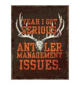 Rivers Edge Rivers Edge Tin Sign - Antler Management