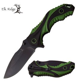 Elk Ridge Elk Ridge Green Folding Knife