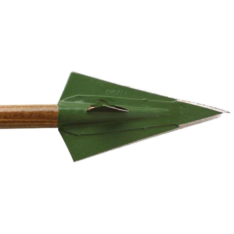 Zwickey Delta Zwickey Broadhead 4 Blade Glue On 135gr 3pk