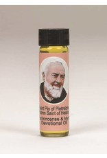 Lumen Mundi 0.25oz Saint Pio Frankincense & Myrrh Scented Devotional Oil