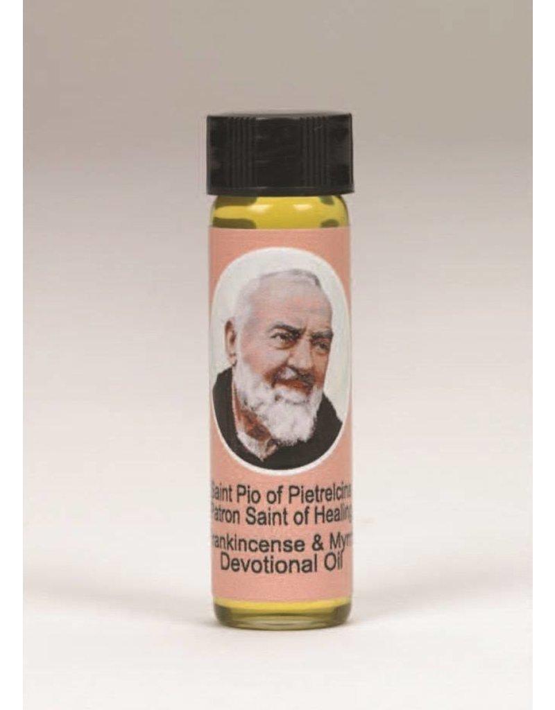 Lumen Mundi 0.25oz Saint Pio Frankincense & Myrrh Scented Devotional Oil