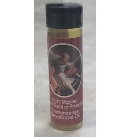 Lumen Mundi 0.25oz Saint Michael Frankincense Scented Devotional Oil