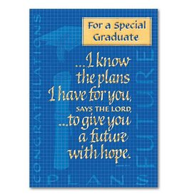 The Printery House For a Special Graduate Jeremiah 29:11 Graduation Card