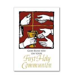 The Printery House God Bless You on Your First Holy Communion Greeting Card
