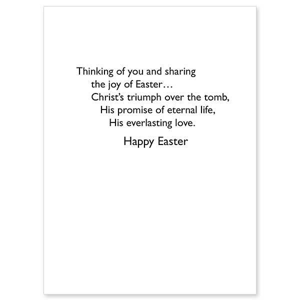 The Printery House Thinking of You at Easter Greeting Card
