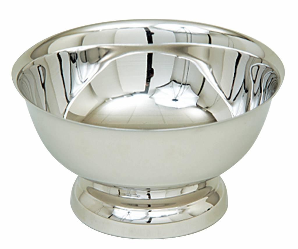 "Koleys Inc. 4"" Silver Baptismal Bowl"