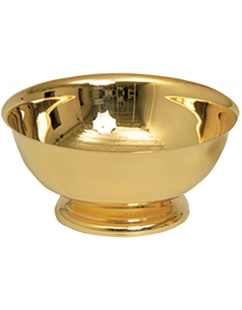 "Koleys Inc. 4"" Gold Baptismal Bowl"