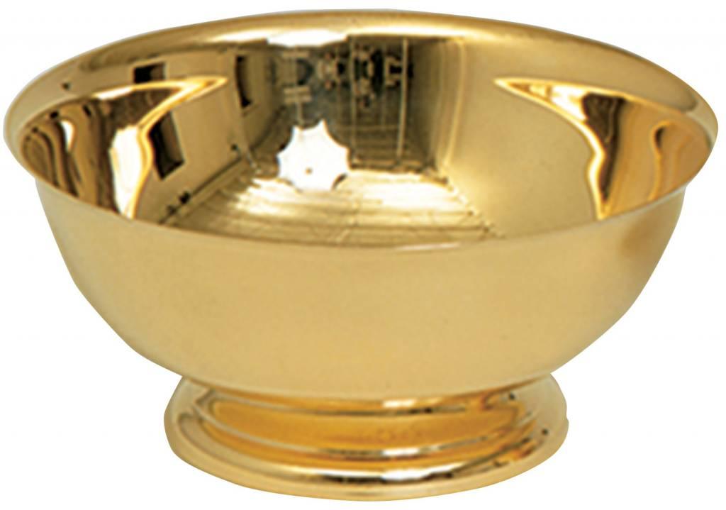"Koleys Inc. 4"" Gold Baptismal Bowl"