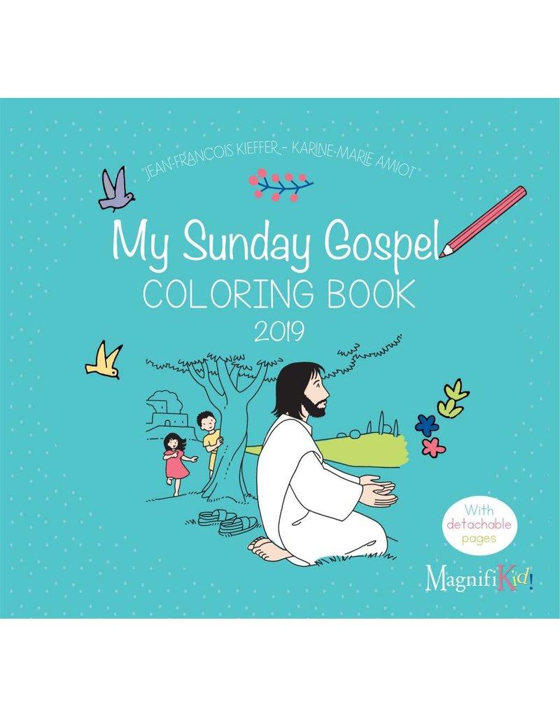 Ignatius Press My Sunday Gospel Coloring Book 2021