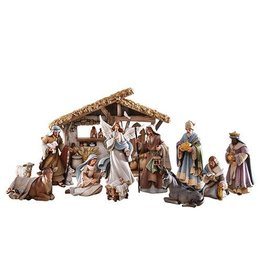 Avalon Gallery Bethlehem Nights Nativity Set