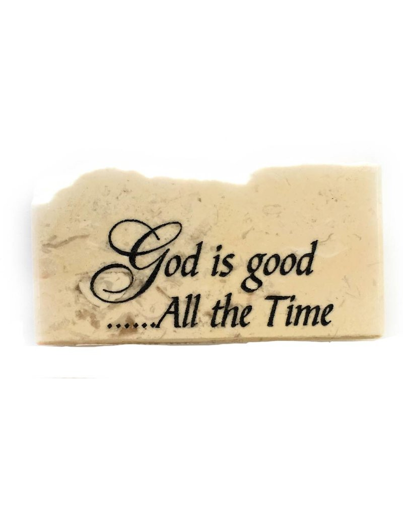 Holy Land Stone God is good...All the time Promise Stone