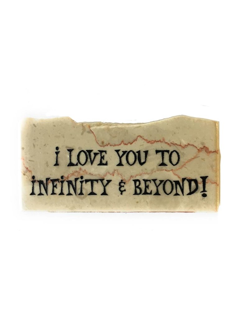 Holy Land Stone I love you to infinity & beyond - Promise Stone