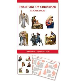 Aquinas Press The Story of Christmas Sticker Book