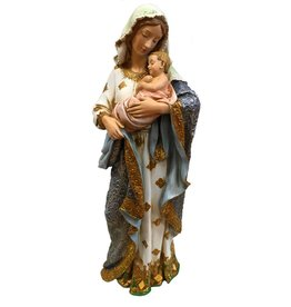 "Avalon Gallery 23.75"" Madonna and Child Statue - Ave Maria Collection"