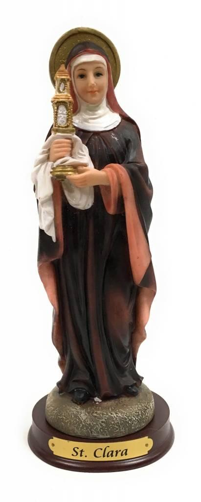 """Religious Art Inc 8"""" St. Clara Statue"""