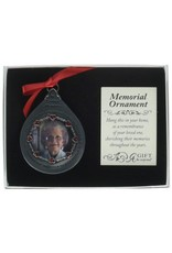 Cathedral Art Cathedral Art 'In Loving Memory' Frame for Women - Teardrop Ornament, 2-3/4-Inch