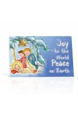 WJ Hirten Box of 10 Joy To The World Peace On Earth Christmas Cards
