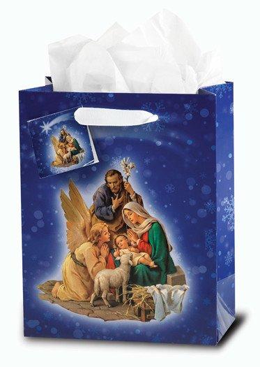 WJ Hirten Nativity Gift Bag Small