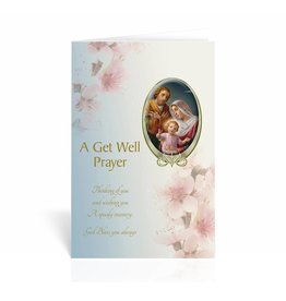 "WJ Hirten ""A Prayer For You, God Bless You Today and Always"" Get Well Soon Card"