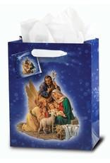 WJ Hirten Nativity Gift Bag Medium