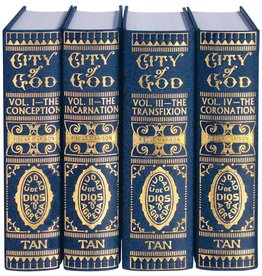 Tan Books Mystical City of God (4 Volume Set)
