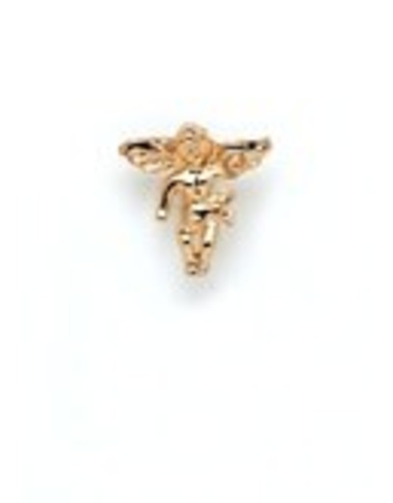 Wallace Brothers Manufacturing Gold Angel Lapel Pin
