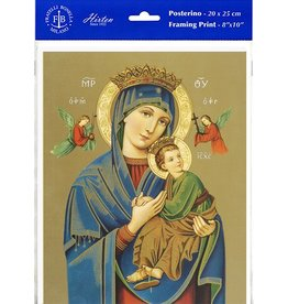 """WJ Hirten 8"""" x 10"""" Our Lady of Perpetual Help (Print Only)"""