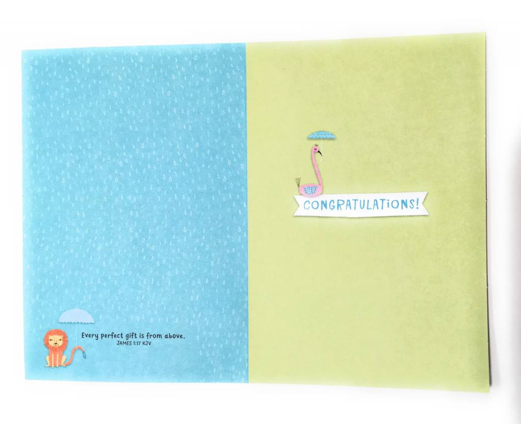 DaySpring When It Comes to Blessings Baby Shower Card
