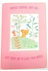 DaySpring Precious Blessing Baby Girl Congratulations Card