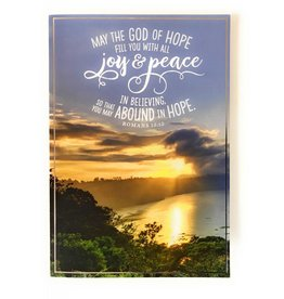 DaySpring May the God of Hope Fill You Blank Card