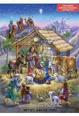 Vermont Christmas Company Peaceful Prince Chocolate Advent Calendar