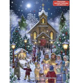 Vermont Christmas Company Christmas Eve Chocolate Advent Calendar