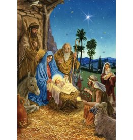 Vermont Christmas Company The Arrival of Christ the Infant King Advent Calendar
