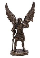 Goldscheider of Vienna Archangel Gabriel Statue in Cold Cast Bronze 4 Inches