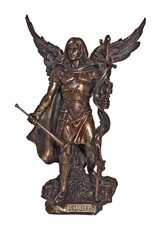 Goldscheider of Vienna Archangel Gabriel Statue in Cold Cast Bronze 9 Inches