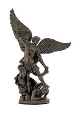 Goldscheider of Vienna Archangel St. Michael Hand-Painted Cold-Cast Bronze 4 Inches