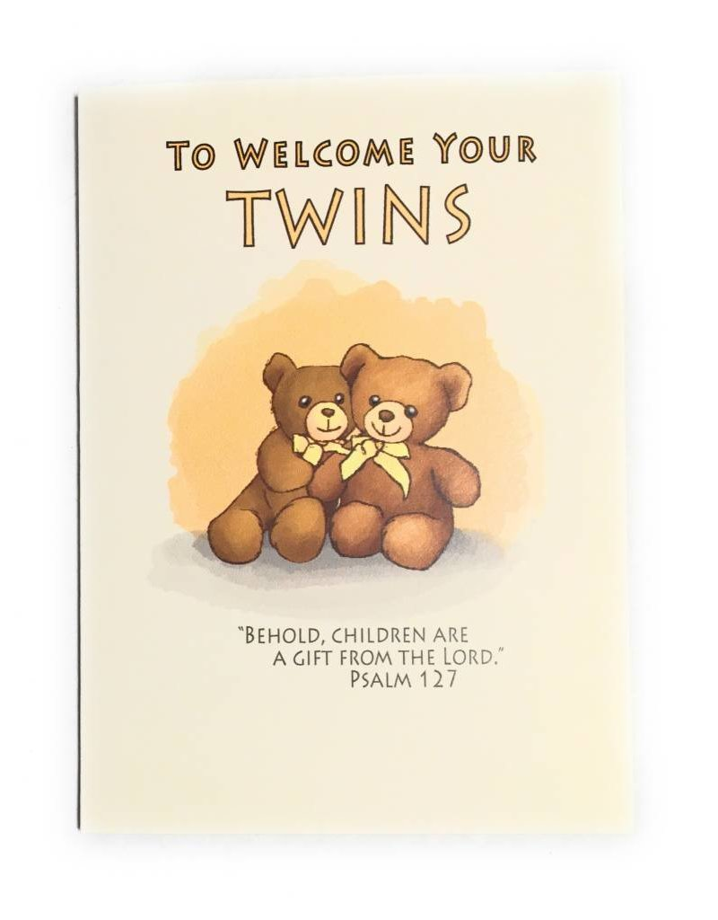 Life Greetings To Welcome Your Twins Congratulations Cards
