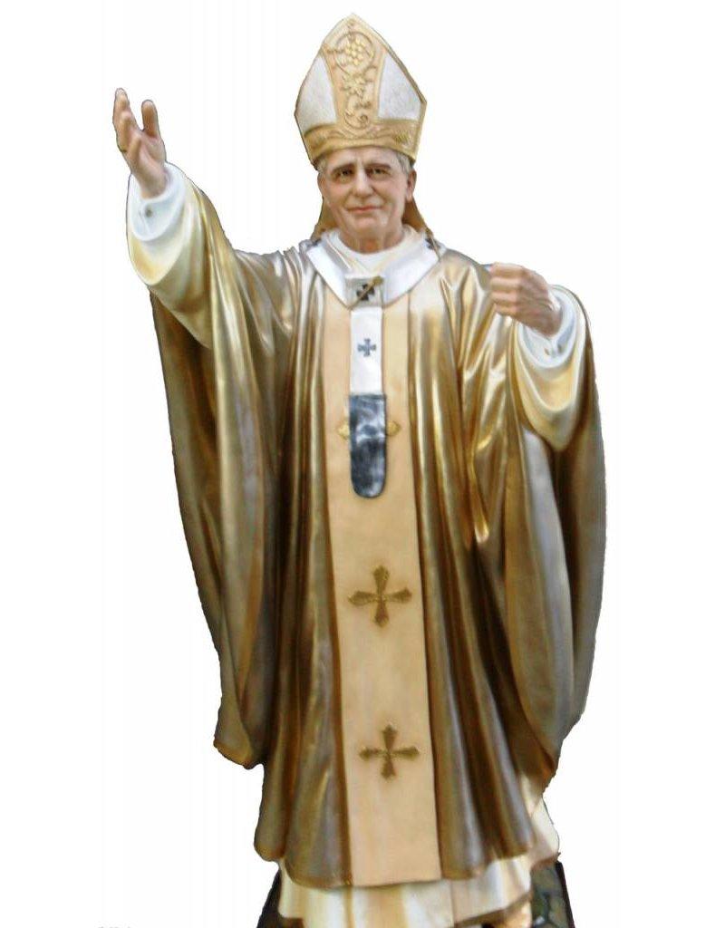 "Fiat Imports 84"" Pope St. John Paul II Statue"