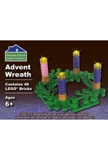 Domestic Church Supply Company LEGO Advent Wreath (Custom Building Brick Set)