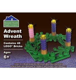 Domestic Church Supply Company LEGO Advent Wreath (Custom Building Brick Set)