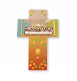 Little Drops of Water Childrens Wall Cross Last Supper 3D